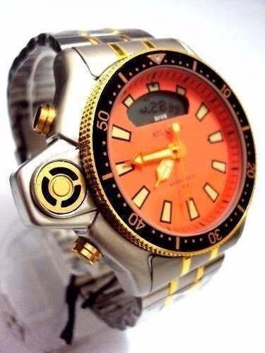 Relógio Atlantis Original A3220 Aqualand Modelo Retro C022