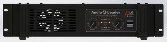 Amplificador Potencia Audio Leader Al 1.0 1000 W Rms 2 Ohms
