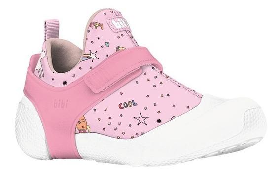 Tênis Infantil Feminino Bibi 2way Rosa 1093027