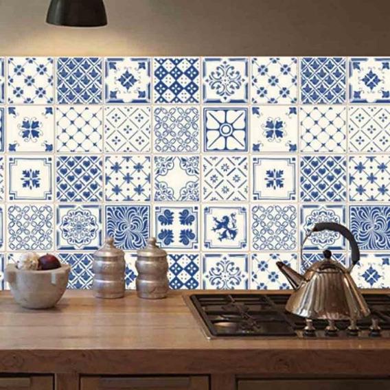10pzs Azulejo 15 Cm X 15 Cm Adhesivo Mate O Brillante
