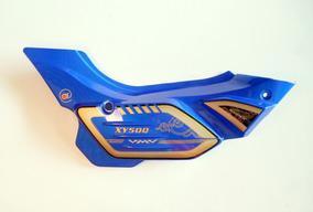 Tampa Lateral Direita Azul Da Shineray Xy 50 Qt Super Smart