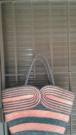 Bolso Rafia Playero O Casual Leer Descripcion Oportunidad