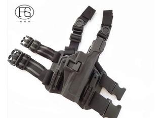 Muslera Táctica Piernera Nivel 2 Pistola Glock 17 Blackhawk