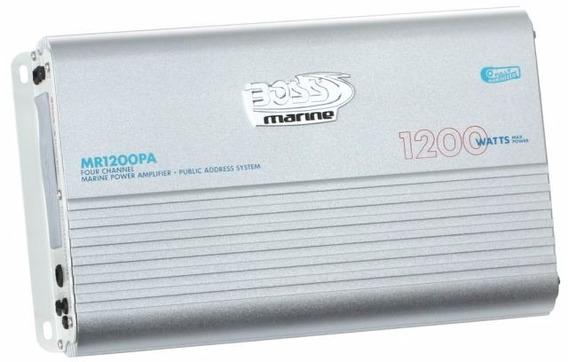 Amplificador De Potência Marinizado Boss 1200w - Mr1200
