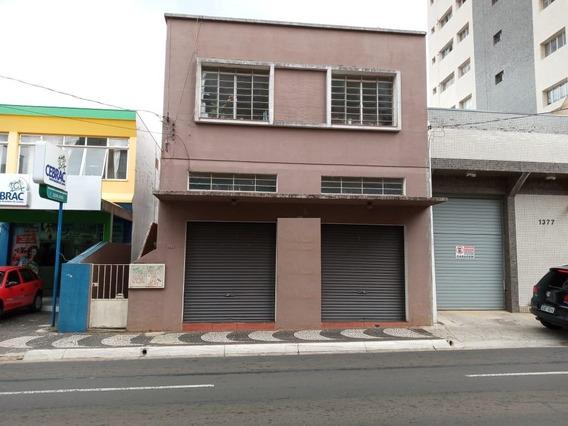 Imóvel Comercial Com Apartamento No Centro - Sa0104