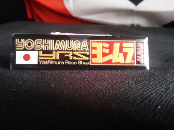Adesivo Em Aluminio Yoshimura Para Ponteiras