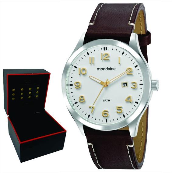 Relógio Mondaine Masculino Original Garantia Nf 99435g0mvnh3