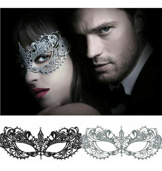 Mascara Antifaz Encaje 50 Sombras De Grey Disfraz Anastasia