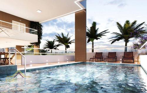 Imagem 1 de 30 de Apartamento Com 2 Dormitórios À Venda, 72 M² Por R$ 388.830,39 - Vila Guilhermina - Praia Grande/sp - Ap2769