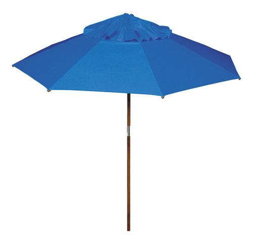 Ombrelone 2,00 M Sem Abas Azul Royal
