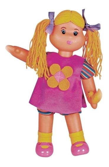 Boneca Lu Millu Infantil 2310 Alpha Brinquedos
