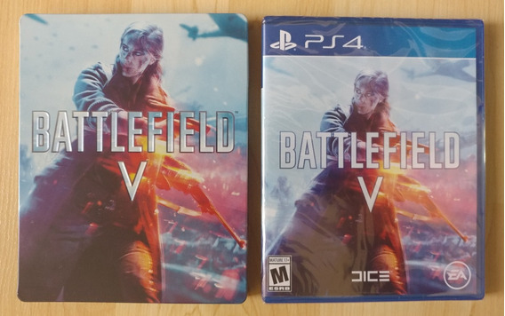 Battlefield V: Exclusive Steelbook Edition - Ps4 - ¡oferta!