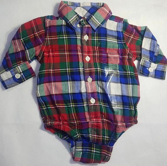 Camisa Body Importado Eua Baby Gap 3 Meses Original