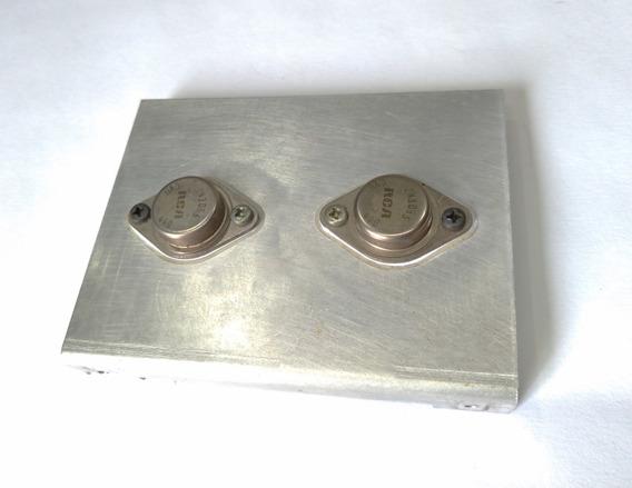 Transistores De Saída C/ Dis. Amplificador Lab 75 Gradiente