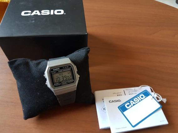 Relógio Digital Casio F91-w Grafite