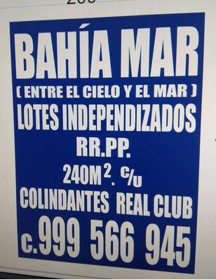 Habilitacion Urbana Bahia Mar, Chocalla, Asia, Cañete, Lima