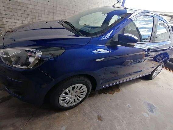Ford Figo Impulse Tm Azul 2020