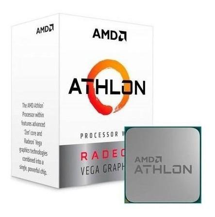 Processador Amd Athlon 220ge 3.4ghz Am4 Yd220gc6fbbox Amd