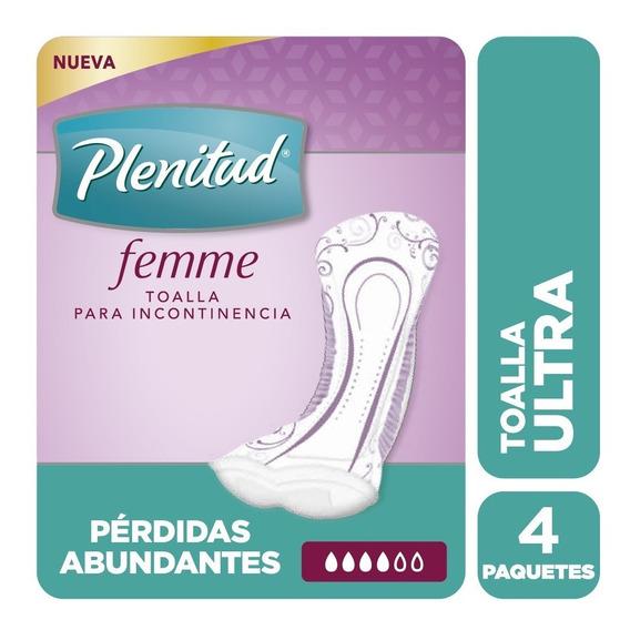 Plenitud Toalla Ultra Femme X 20 Unidades Pack X 4