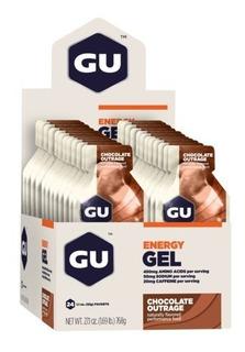 Gu Energy Gel (caixa Com 24 Sachês) Chocolate