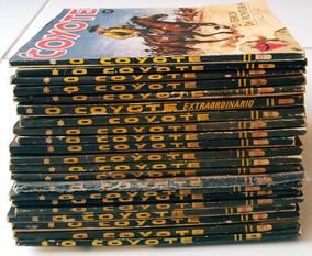 Super Lote Livros O Coyote J. Mallorqui Faroeste Pulp Antigo