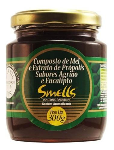 Imagem 1 de 1 de Smells Mel Própolis/agrião/eucalipto 300g