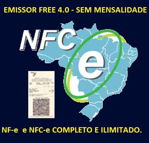 Sistema Emissor De Nota Fiscal Eletrônica Nf-e Nfc-e ( Sem Mensalidade ) - Atualizado Com Suporte