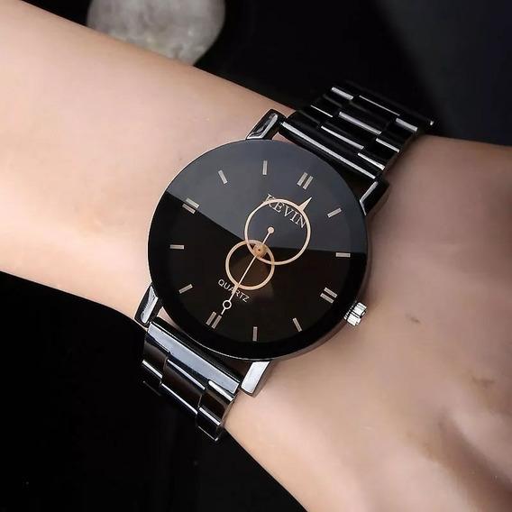 Relógio Feminino Design De Luxo Kevin Lindo