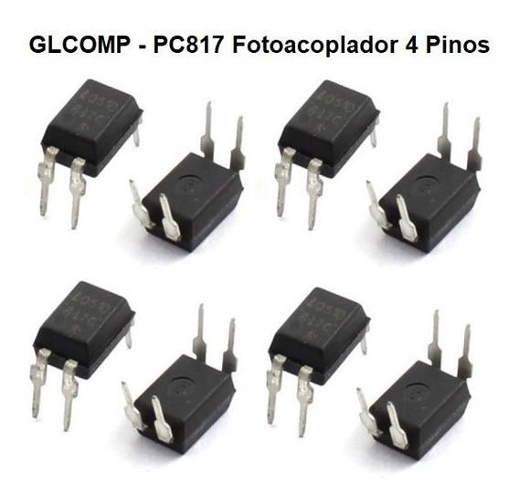 Pc817 Optoacoplador Foto Acoplador Kit C/ 100 Peças - Carta