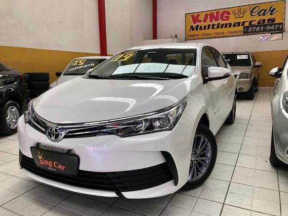 Corolla 1.8 Gli 2019 Flex Multidrive Kingcar Multimarcas