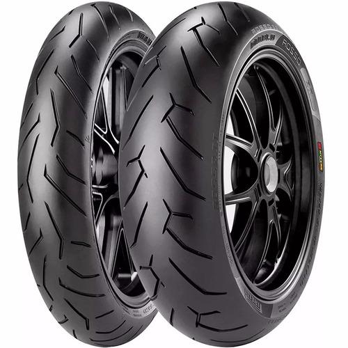 Juego Cubiertas Cbx250 Twister Pirelli Diablo Rosso 2 Avant