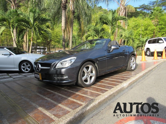 Mercedes Benz Slk 200 At Sec Convertible Cc1800