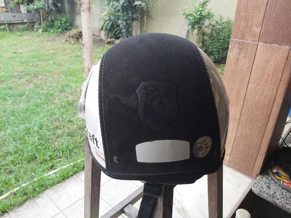 Capacete Aberto Kraft Tamanho 56 Para Moto