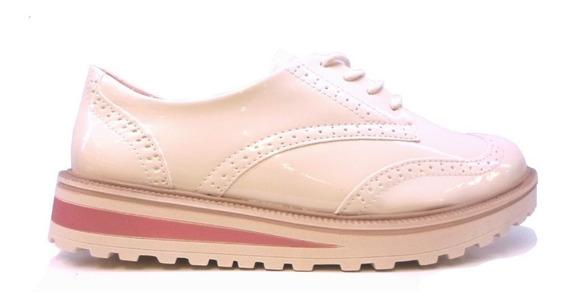 Zapatos Abotinados Ramarim Oxfords Charol 1990103 Rimini