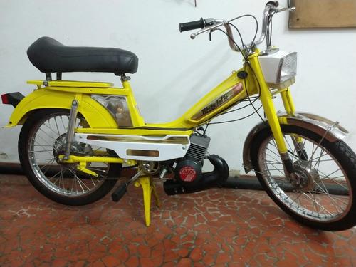 Mobylette Caloi Mobilete Motobecane Av7 Upgrade Motor Av10