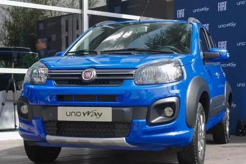 Fiat Uno Way 0km Plan Gobierno 10% Ant + Cuotas S/interes P-