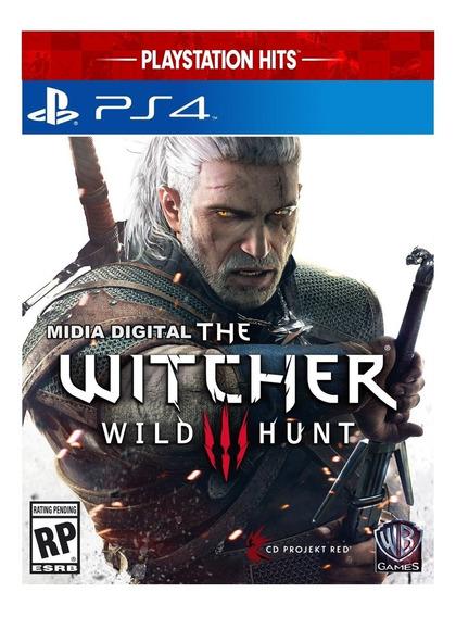 The Witcher 3 De Ps4 Mídia Digital Promoção Mídia Primaria