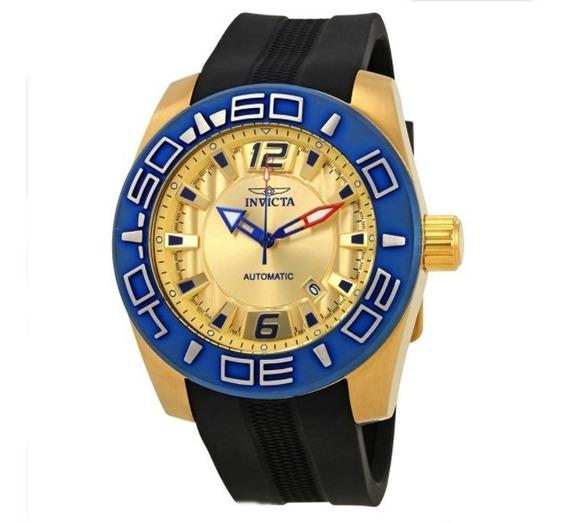 Relógio Automático Invicta Ouro 18k C/ Garantia