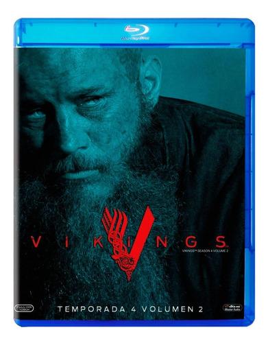 Imagen 1 de 3 de Vikingos Vikings Cuarta Temporada 4 Volumen 2 Blu-ray