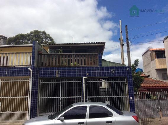 Sobrado Residencial À Venda, Parque Monte Alegre, Taboão Da Serra. - So0093