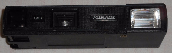 Câmera Mirage 806 Electro-flash 110 Mecânica Funciona