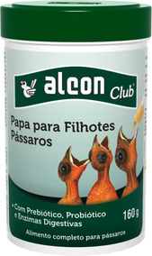 Alcon Club Papa P/ Filhotes. Para Todas As Espécies De Aves.