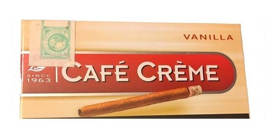 Cafe Creme Vainilla Puritos Habano Cigarro Puros Cigarrillos