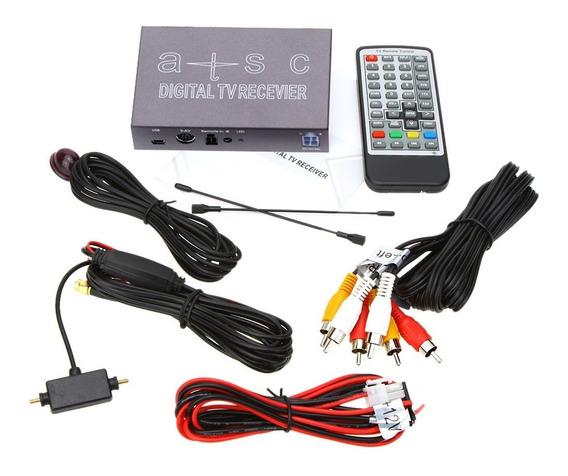 Antena De Tv Digital Full Hd Para Carro Tv Tunner Universal