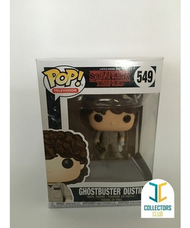 Funko Pop #549 - Ghosbuster Dustin - Stranger Things