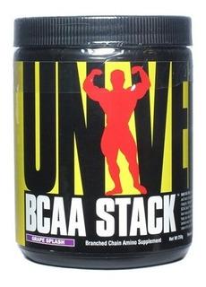Bcaa Stack Universal 250 Gr + Glutamina Importado/eua