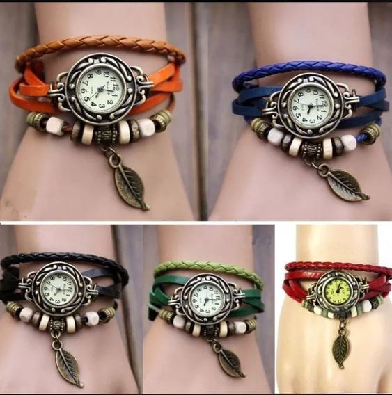 Kit 10 Relógios Feminino Pandora Couro Atacado Revenda