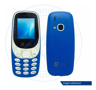Celular Vozz N1 Modelo Nokia 3310 Dual Sim Radio Mp3 Flash