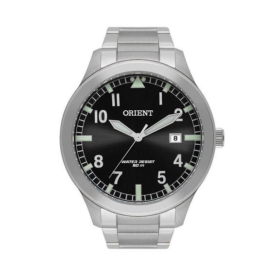 Relógio Orient Masculino Ref: Mbss1361 P2sx Casual Prateado
