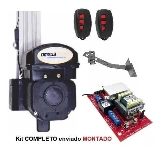 Kit Motor Portão Eletrônico Basculante 1/4 - Montado - 1,40m
